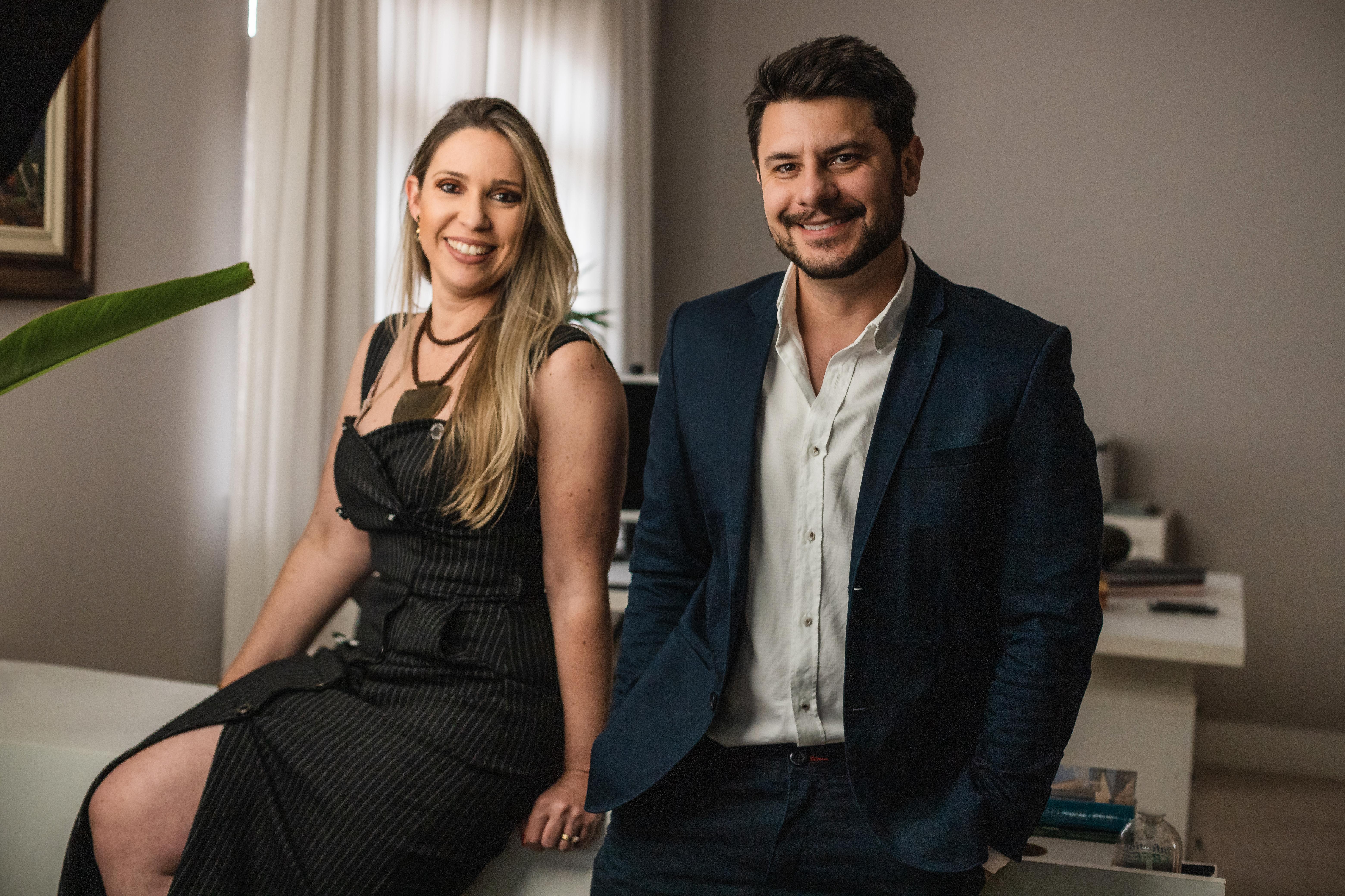Raphael Cozitsky e Mônica Floreste