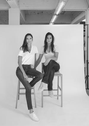 Nicolle Nogueira e Katherine Heim Weber
