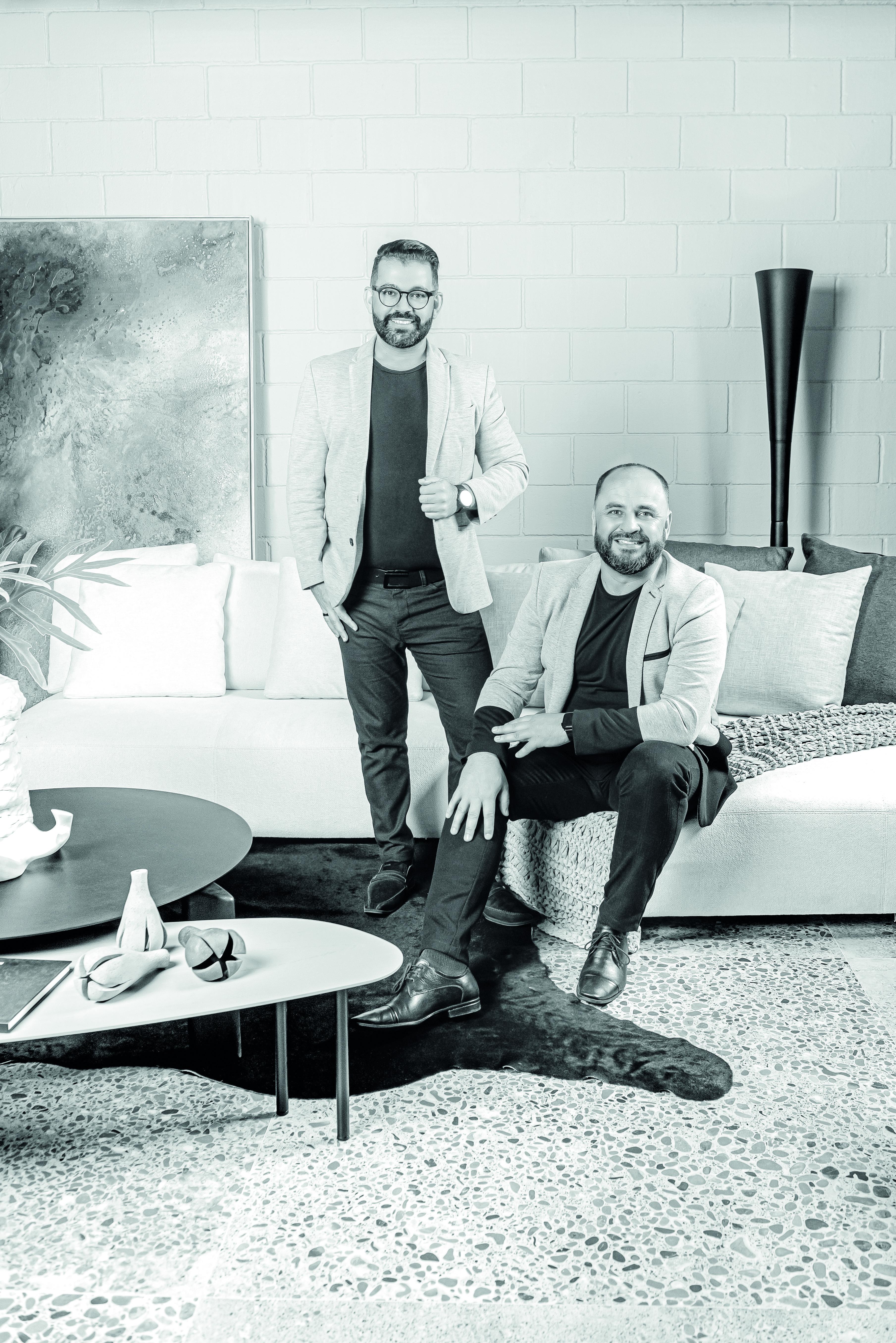 Alexandre Weiss e Nelson Machado