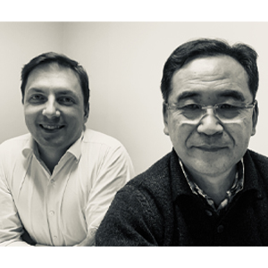 Gilberto Inoue e Egon Lima