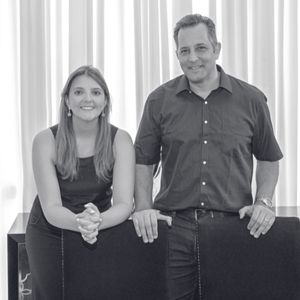 Amir Shafa e Licyane Cordeiro