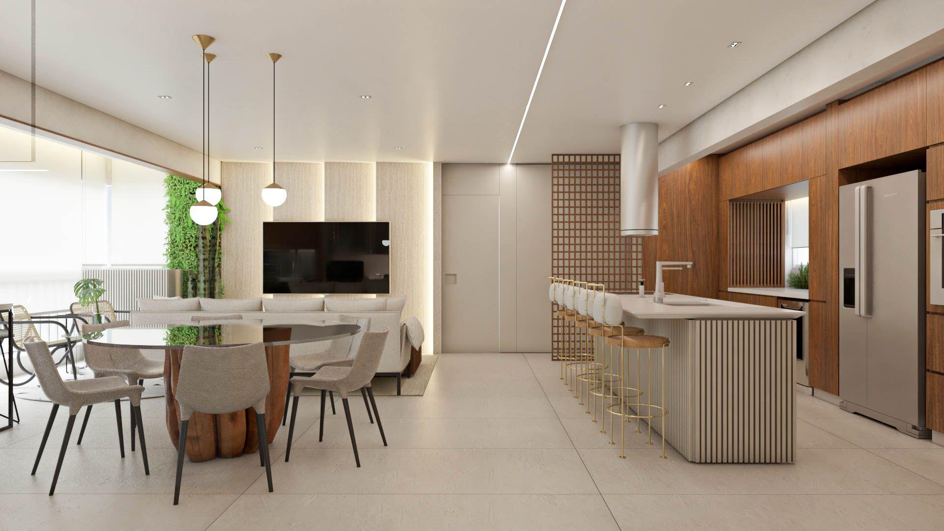 Apartamento Travertino